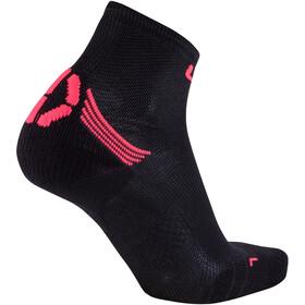 UYN Run Superleggera Socks Women Black/Coral Fluo